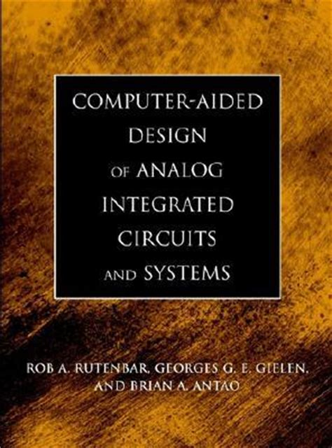 design of analog integrated circuits and systems laker sansen design of analog cmos integrated circuits behzad razavi solutions manual images