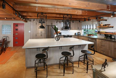 los angeles home remodel industrial kitchen