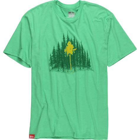 T Shirt Huck The Leaf meridian line aspen leaves t shirt s backcountry