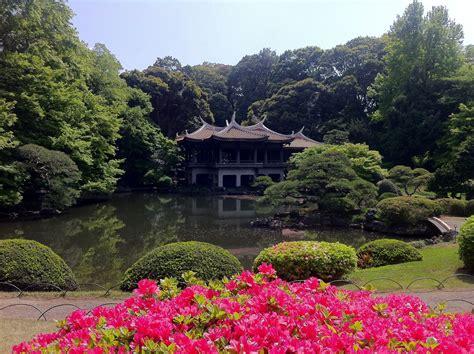 giappone giardini foto giardino di tokyo viaggi vacanze e turismo