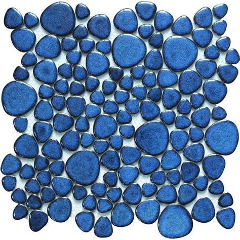 porcelain pebble tile mosaic floor sticker hominter com