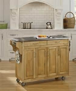 Kitchen Island Stainless Steel Top by Create A Cart Kitchen Cart With Stainless Steel Top