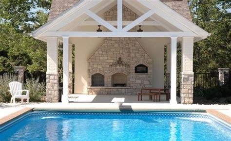 stylish home pool houses  tennis pavilions