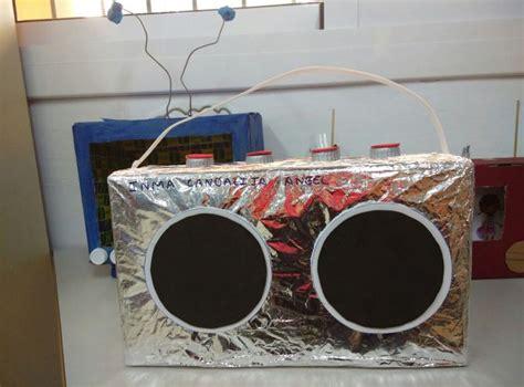 medios de comunicacion hecho con material reciclado medios de comunicaci 243 n 4 a 241 os infantil proyecto medio de