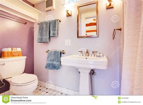 Small Bathroom Appliances Small Bathroom Interior Stock Image Image Of Indoor