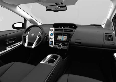 Prius 2015 Interior by Toyota Prius V Facelift 2015 Interior