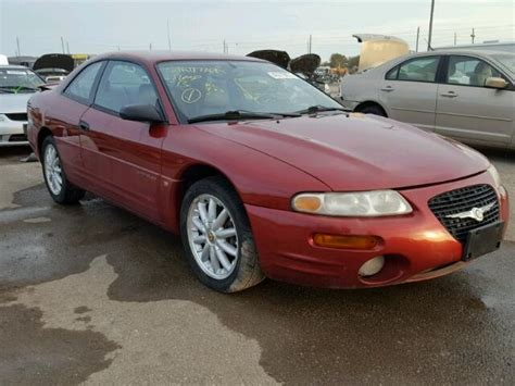 1998 Chrysler Sebring Lxi by 1998 Chrysler Sebring Lxi For Sale Tx Houston