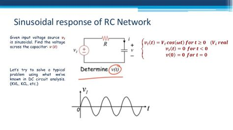 capacitor sinusoidal response ac steady state analysis