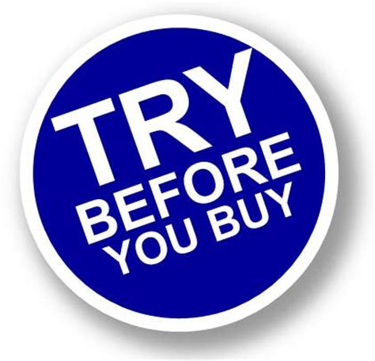 Try Before You Buy 2 demo equipment loaner program chesapeake midlantic