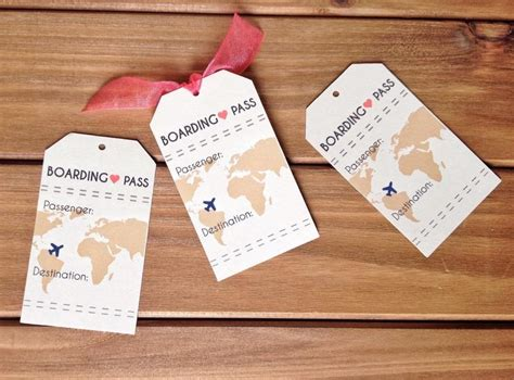 boarding pass place card template instant boarding pass travel wedding theme place