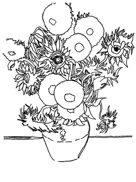 famous art coloring pages brilliant famous works of art