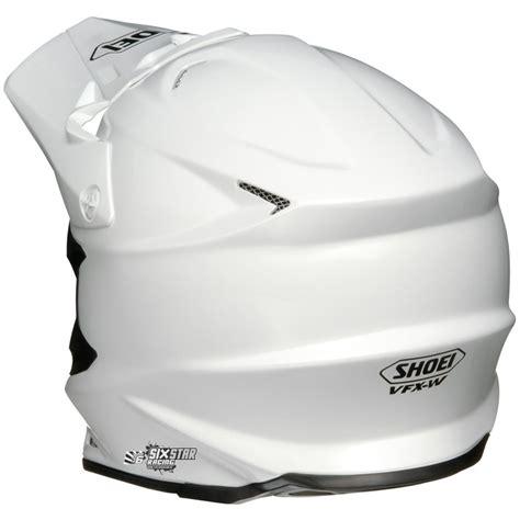Helm Semi Cross Visor We Are Rider shoei vfx w casque motocross blanc helmet enduro helm
