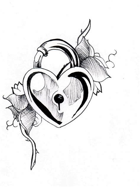 heartbeat tattoo drawing heart tattoos designs ideas and meaning tattoos for you