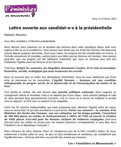 Exemple De Lettre Ouverte Sle Cover Letter Exemple De Lettre Ouverte Dans Un Journal