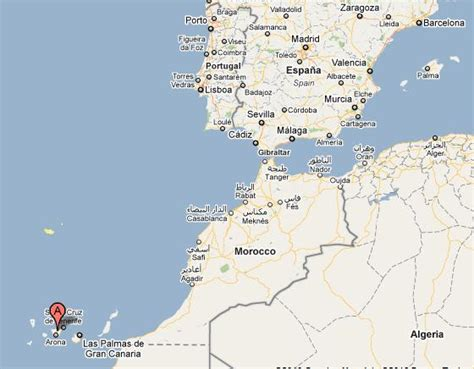 canary islands map where is darren now lanzarote canary islands