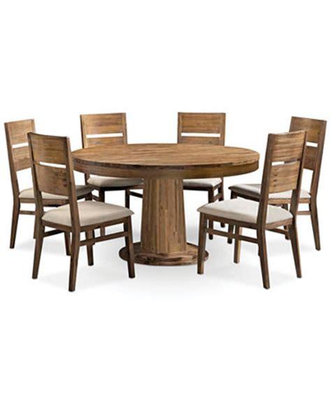 7 piece round dining room set chagne 7 piece round dining room furniture set