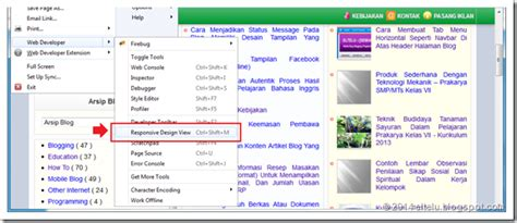 tilan layout presentasi pada menu view eltelu cara mudah untuk mengetahui template yang memiliki
