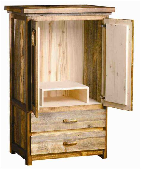 wood tv armoire wardrobes unfinished furniture corner