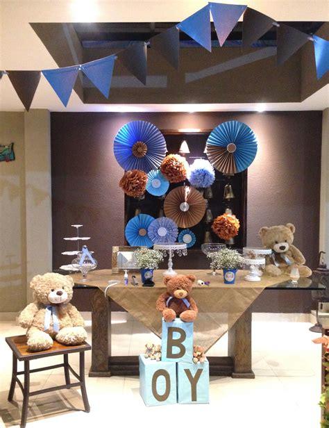 17 Mejores Ideas Sobre Decoracion Baby Shower Varon En Decoracion Bautismo Varon Baby Shower Ositos Azul Y Caf 233 Teddy Baby Shower Azul Baby Shower