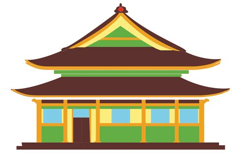 chinese house file world landmarks icons chinese house svg wikimedia commons