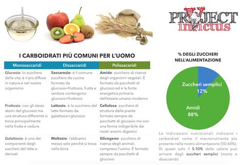 alimenti contenenti glucosio quali sono i carboidrati quelli semplici e complessi