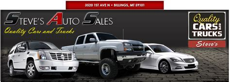 a a auto sales steve s auto sales used cars billings mt dealer