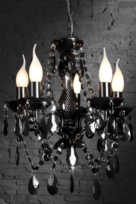 kronleuchter acrylglas kronleuchter aus acrylglas 5 armig farbe schwarz