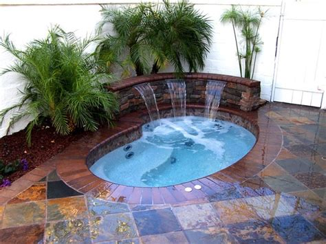 Custom Inground Tubs custom inground spa in orange county fully customized