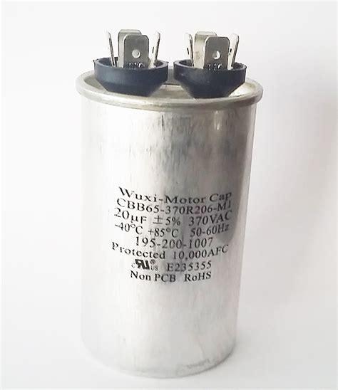how to test cbb65 capacitor motor start capacitors and motor run capacitors