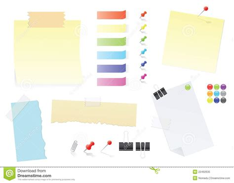 printable sticker paper office max paper notes and post it stickers office supply set royalty