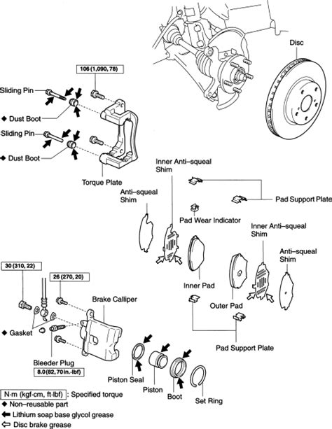 | Repair Guides | Front Disc Brakes | Brake Caliper
