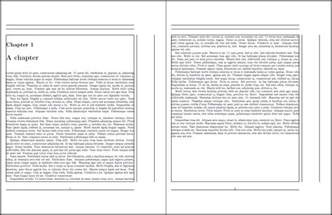 page margins problem with the title page and rest of the pages in the chapter tex