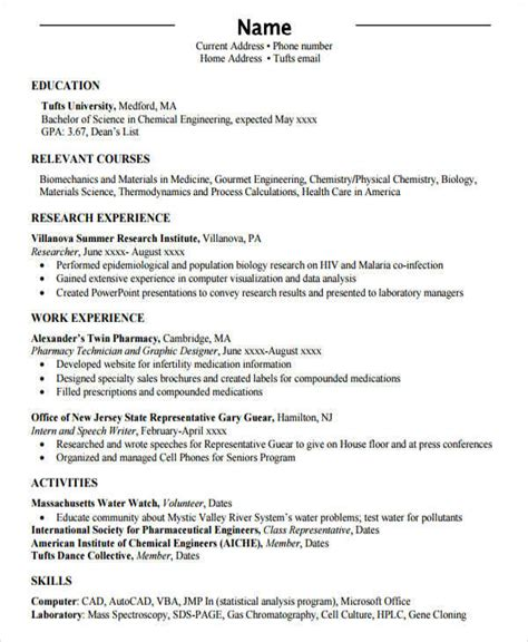 Professional Engineer Resume by 52 Resume Format Sles Sle Templates