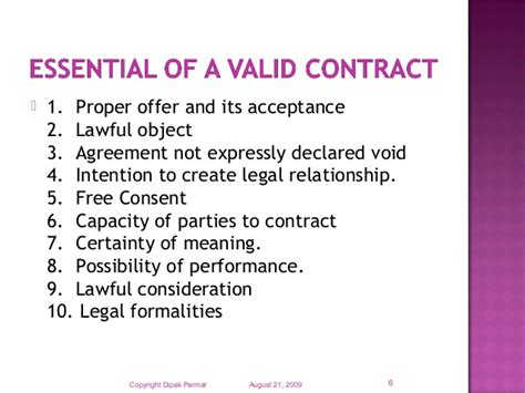 Free Essay Contract Law Offer Acceptance