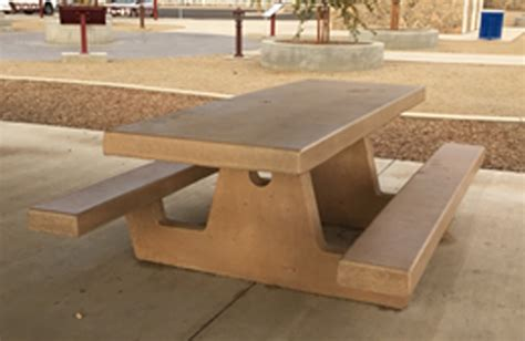 cement tables cement picnic table 6