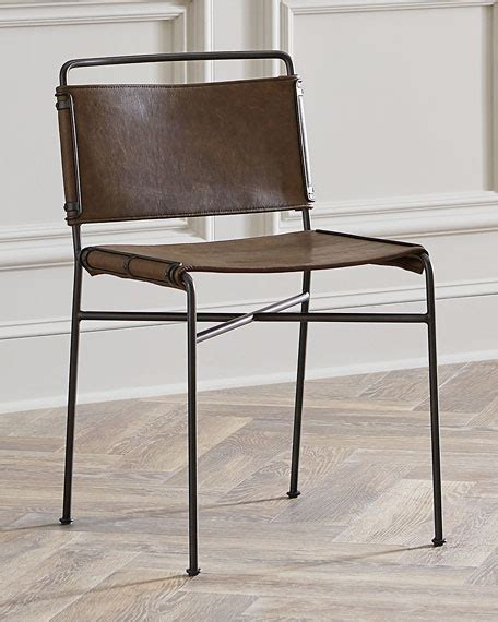 Metal And Leather Dining Chairs Leather And Metal Dining Chairs