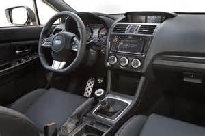 2015 Subaru Wrx Interior 2014 Ford Focus St Vs 2015 Subaru Wrx Comparison Photo