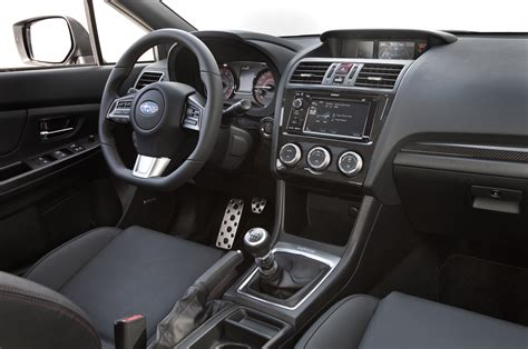 subaru wrx interior 2014 ford focus st vs 2015 subaru wrx comparison motor