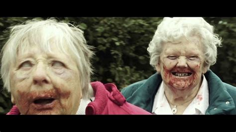 kumpulan film zombie comedy granny of the dead 2017 official trailer hd zombie