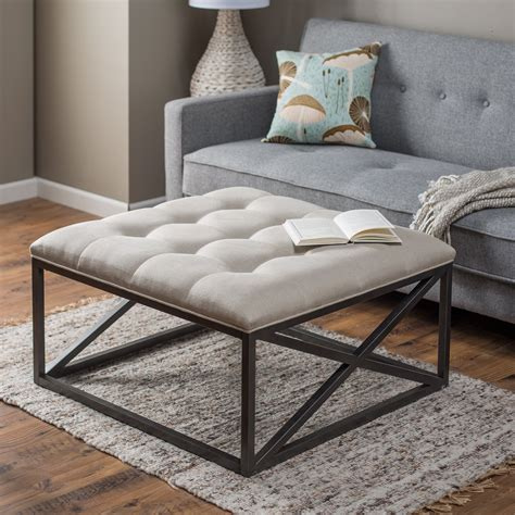 round tufted ottoman diy ultimate tufted ottoman coffee table decoration ideas