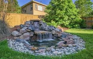 Small Backyard Gazebo Ideas - 53 backyard garden waterfalls pictures of designs designing idea