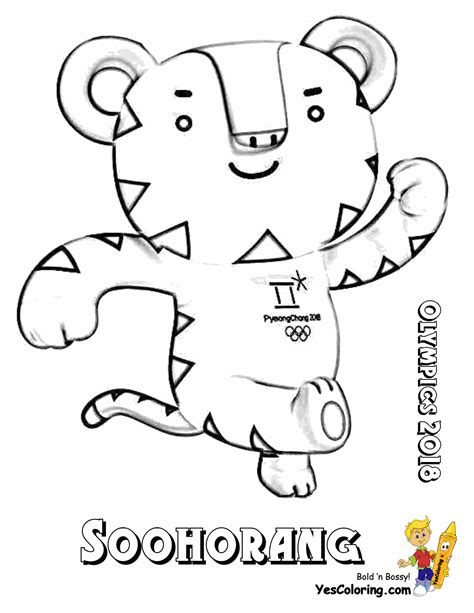 Olympic Coloring Pages sporty olympic coloring pages yescoloring free sports