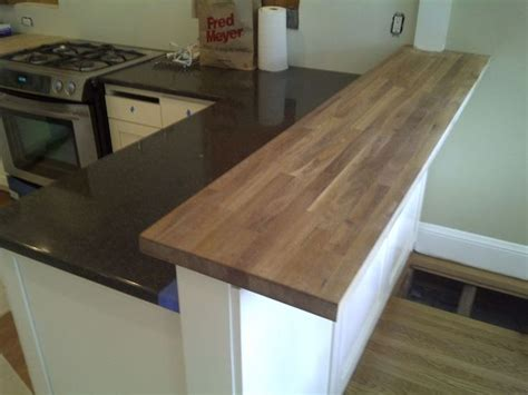 butcher block bar top en iyi 17 fikir kitchen bar counter pinterest te