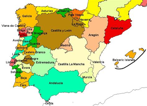 map of spain provinces opinions on provinces of spain