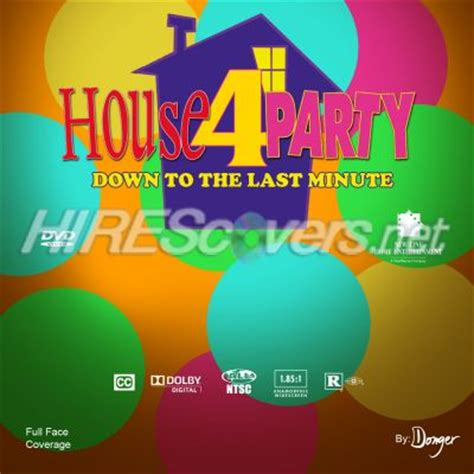house party 4 down to the last minute 2001 dvd cover custom dvd covers bluray label movie art dvd custom labels h house