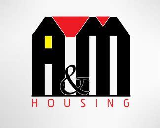 housing logo design a m housing designed by breako brandcrowd