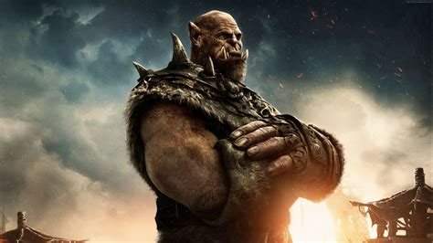fantasy film beginning with a foto warcraft the beginning ork ungeheuer fantasy film