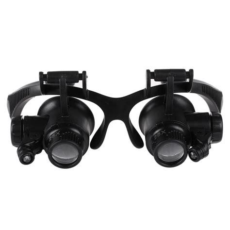 jewelers  glasses magnifier head glass loupe  led