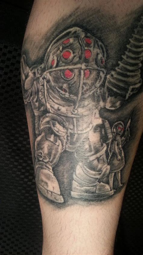 big daddy tattoos one session into my big bioshock