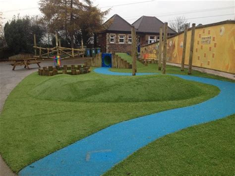 playground landscaping bespoke school playground landscaping pentagon play